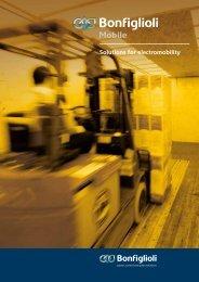Electromobility catalogue Download pdf - Bonfiglioli