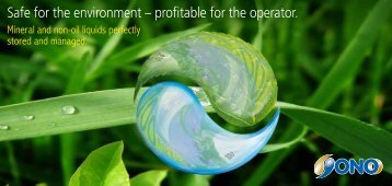 Safe for the environment – profitable for the operator. - OnO Oil