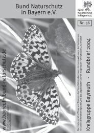 Biologisch & fair - Bund Naturschutz in Bayern eV