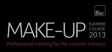 Summer Course Make-Up 2013.pdf - Arts University Bournemouth