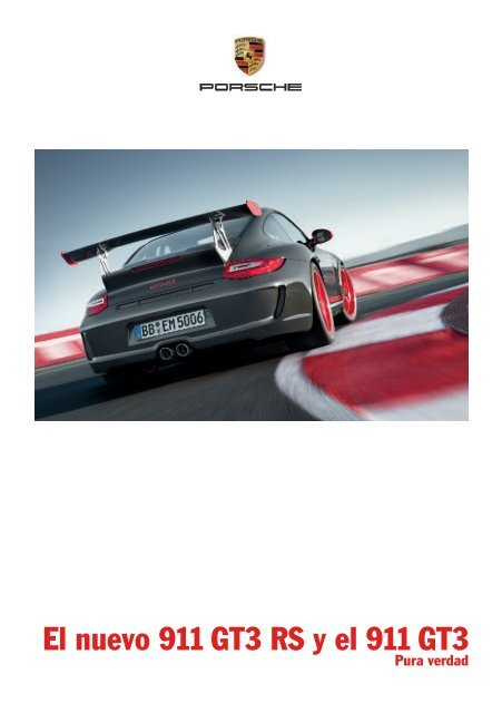 El nuevo 911 GT3 RS y el 911 GT3