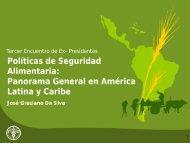 Panorama General en América Latina y Caribe - BVSDE