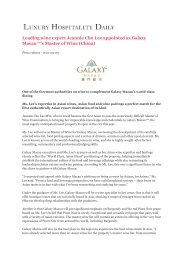 Leading wine expert Jeannie Cho Lee appointed as ... - Asian Palate