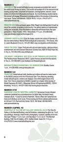 CALENDAR OF EVENTS/DINING & NIGHTLIFE ... - Visit Milwaukee - Page 6