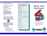 Do it yourself auto mechanics brochure (95k PDF) - Monroe County