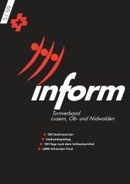 Inform - TURNVERBAND Luzern, Ob- und Nidwalden