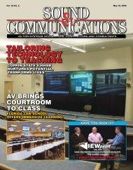 May 2009 - Sound & Communications