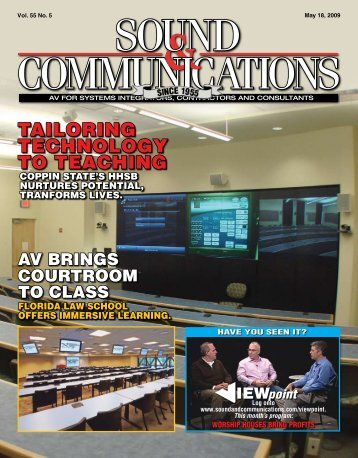 May 2009 - Sound & Communications