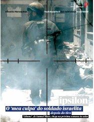 O 'mea culpa' do soldado israelita - Fonoteca Municipal de Lisboa