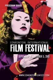 EIFF 2013 - Edmonton International Film Festival