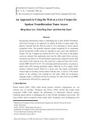 An Approach to Using the Web as a Live Corpus for Spoken ...