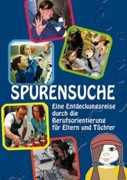 Broschüre Spurensuche - Girls Day