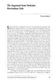 The Argument from Particular Horrendous Evils - Andrew M. Bailey