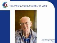 Sir Arthur Clarke - International Year of Planet Earth