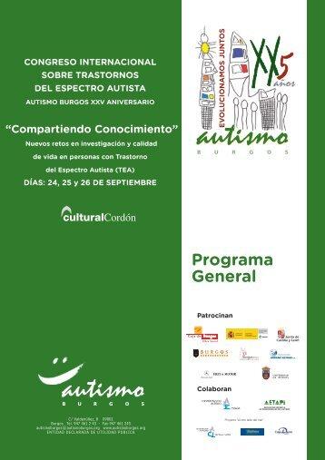 Programa General - Autismo Burgos