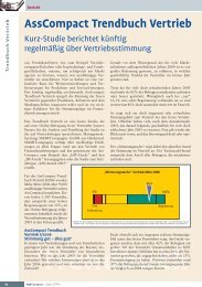 AssCompact Trendbuch Vertrieb I/06 - Smartcompagnie GmbH