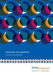 Informatie voor patiënten - Bavo Europoort