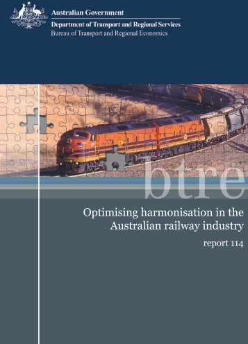 PDF: 8076 KB - Bureau of Infrastructure, Transport and Regional ...