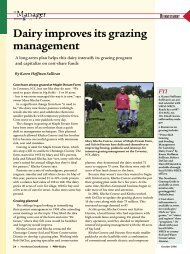 Dairy improves its grazing management