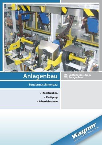 Anlagenbau - Wagner Maschinen