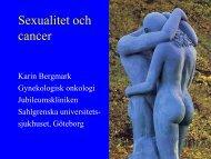 Sexualitet och cancer - SFOG