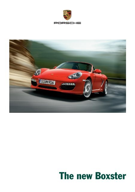 The new Boxster