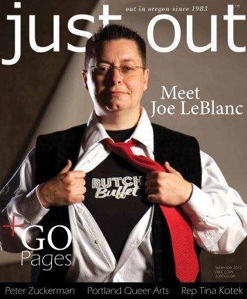 Meet Joe LeBlanc - Just Out