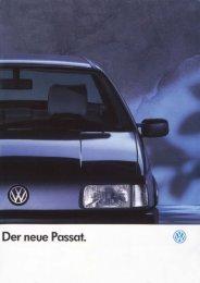 """Page 1 """"im @zäh www , Der neue Passat. Page 2 DerPaSsBt GL ..."""