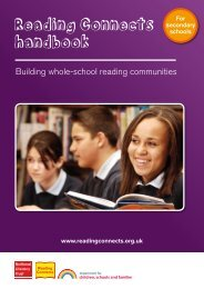 Reading Connects handbook - National Literacy Trust