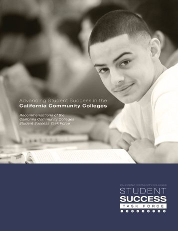 Student Success Task Force - California Community Colleges ...