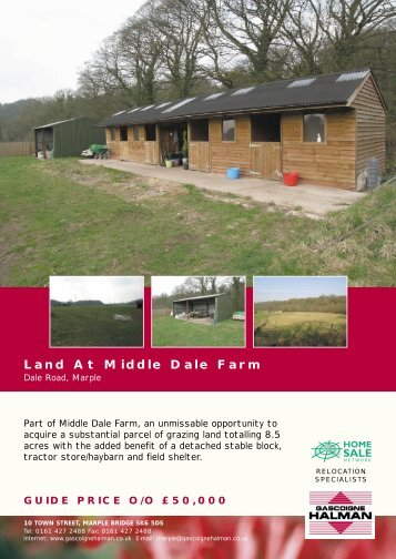 Land At Middle Dale Farm