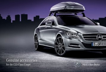 Genuine accessories - Mercedes-Benz