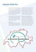 Altpapier – der ökologisch sinnvolle Rohstoff - Perlen Papier AG - Seite 5