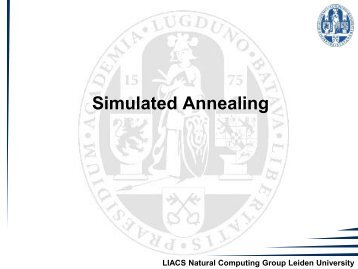 2. Simulated Annealing - Natural Computing Group, LIACS, Leiden ...