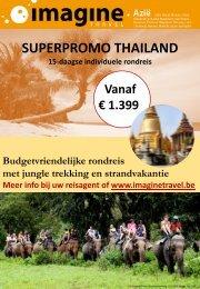 SUPERPROMO THAILAND 15-daagse individuele rondreis Vanaf ...