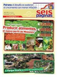 Producir alimentos, - SeisPaginas