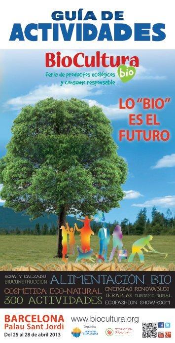 guia de actividades - Biocultura