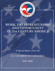 Report - US Chamber of Commerce