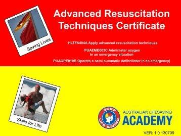Defibrillation - Life Saving Victoria