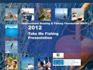 2012 RBFF Take Me Fishing Campaign Evaluation Report