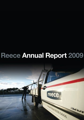Financial Reports Year Ending 30 June 2009 [PDF] - Reece