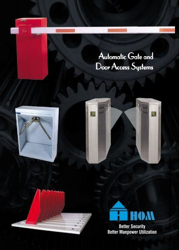 Automatic Gate and Door Access Systems - ADON SYSTEM