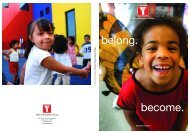 YMCA of Metropolitan Chicago 2006 Annual Report YMCA of ...