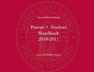 Download now (pdf) - Sacred Heart Schools
