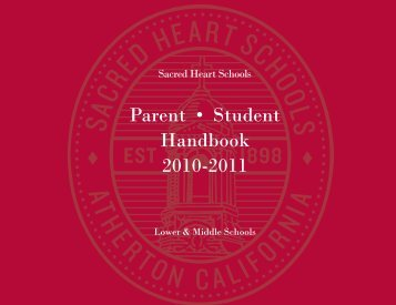 Download now (pdf) - Sacred Heart Schools