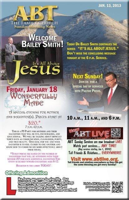 10 am   Anchorage Baptist Temple