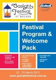 Festival Program & Welcome Pack - Vicdeaf