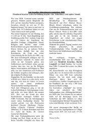 Bericht JHV 08 - VRB Westfalen