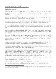 PUBLICATIONS - Reba M. Bandyopadhyay I. Refereed ... - Astronomy