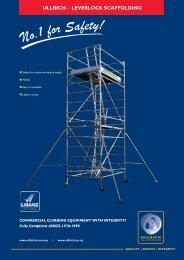 Leverlock Scaffold - Ullrich Aluminium